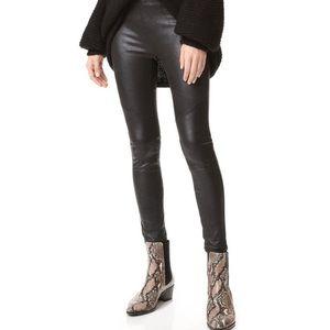 Free People vegan faux leather leggings 8 M